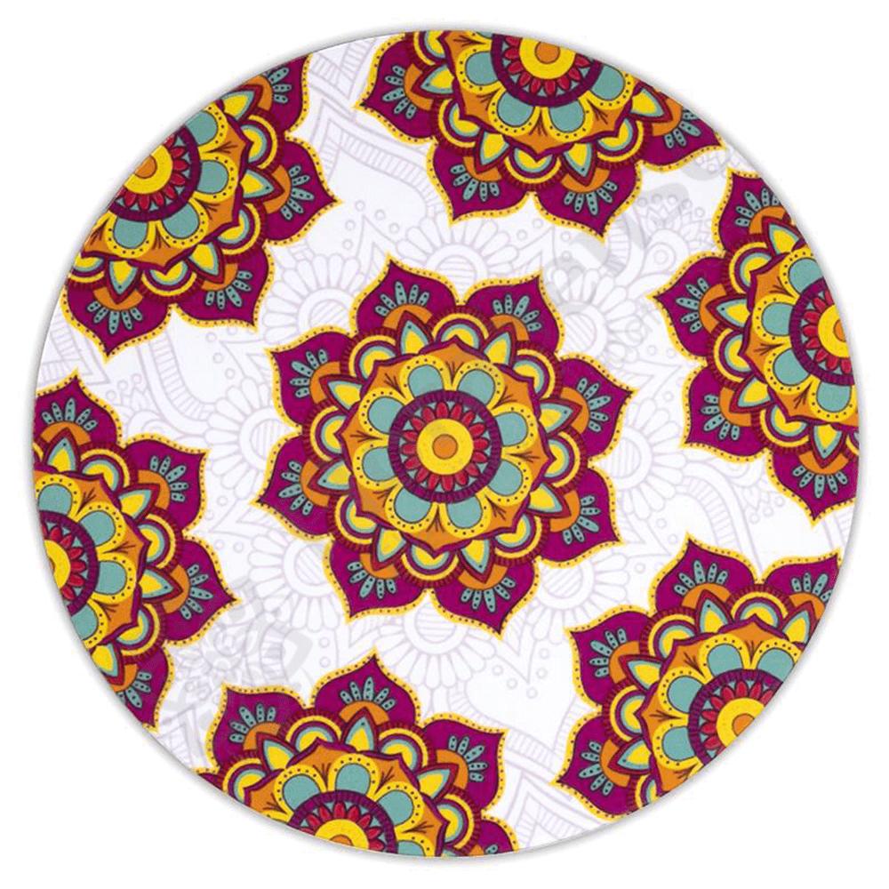 Mandala - magenta lótusz poháralátét szett a9e951ee43