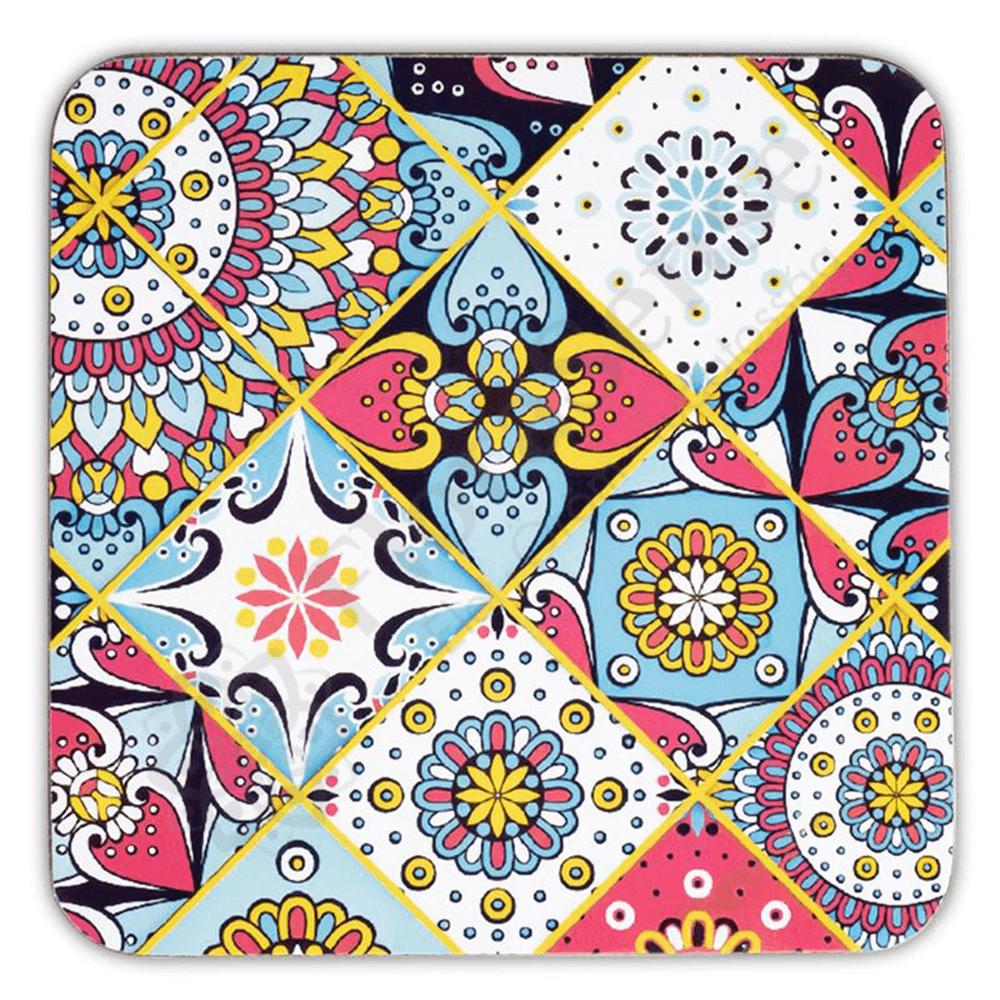 Mandala - mozaik poháralátét szett da211fb079