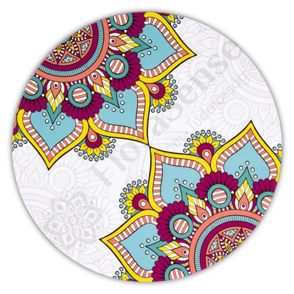 Mandala - türkiz lótusz poháralátét szett cb773404b7